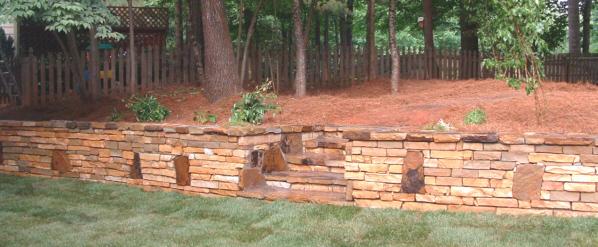 Atlanta Hardscape Stone Concrete Flagstone Patios
